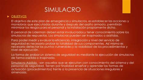 Mba Significado by Seguridad Fisica Simulacros En Operaciones Mineras