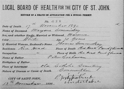Toronto Birth Records Canada Genealogy Records