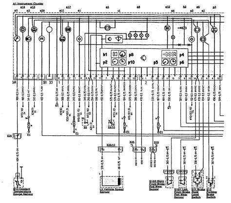 mercedes 500sl 1990 1993 wiring diagrams
