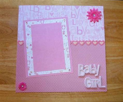 Handmade Baby Scrapbook Ideas - best 25 baby scrapbook ideas on