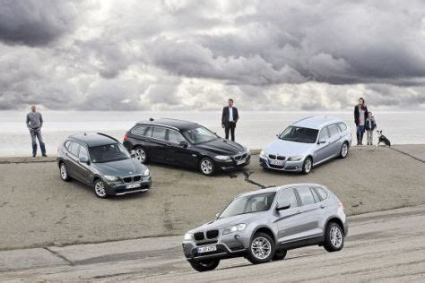 Bmw 3er Touring Vs X3 by Vergleich Der Neue Bmw X3 Trifft Auf X1 3er Touring Und