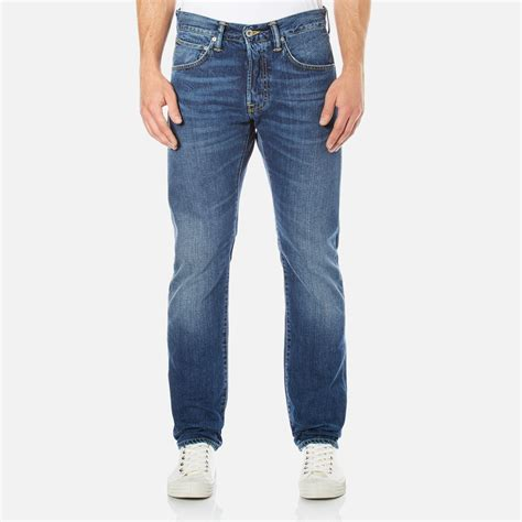 clothes for men over 55 edwin men s ed 55 regular tapered jeans savage wash mens