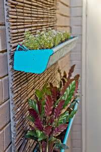 Vertical Garden Diy Diy Vertical Gardens Gutters And Pallets What S Dan Up To