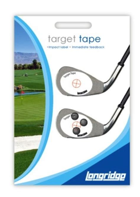 tape ball swing impact target tape golf swing systems