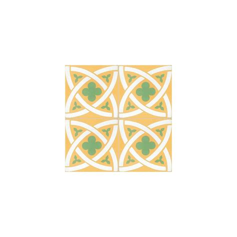 Carreaux De Ciment Vert by Carreau De Ciment Color 233 Motif Jaune Blanc Et Vert T02 10