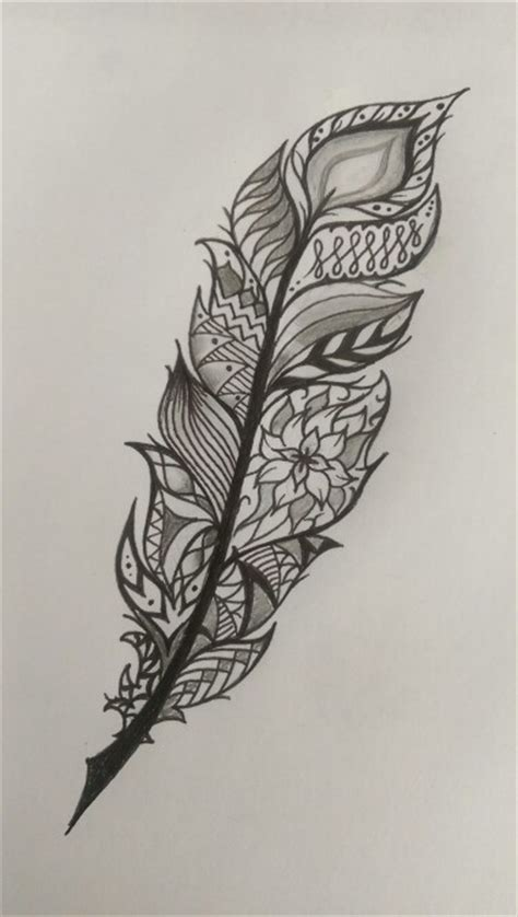 tattoo mandala style feather tattoo idea mandala style tattoo pinterest