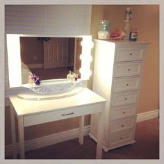 bedroom vanities for less my diy vanity mirror after with led lights for a lot