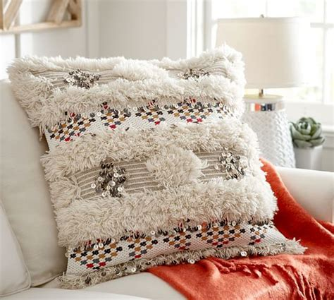 aya moroccan wedding blanket pillow cover pottery barn