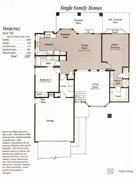 village homes floor plans sun village floor plans jos 233 e marie plant pllc gri e