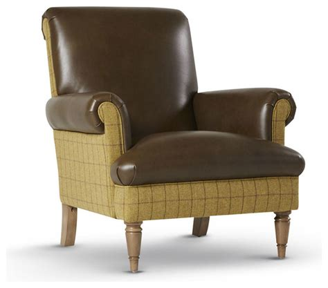Traditional Leather Armchairs Uk by Style Brown Leather Chair Traditional Armchairs