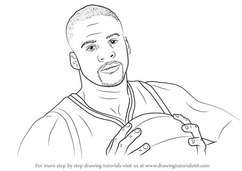 how to draw doodle sketch learn how to draw draymond green basketball players step