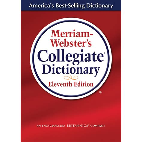 The Merriam Webster Dictionary merriam webster s collegiate dictionary laminated cover merriam webster 0081413008074