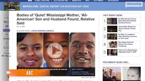 Family Found Still Missing by Missing Mississippi Family Found Dead Relative Says One
