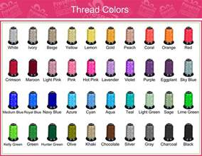floriani thread color chart floriani thread color chart images