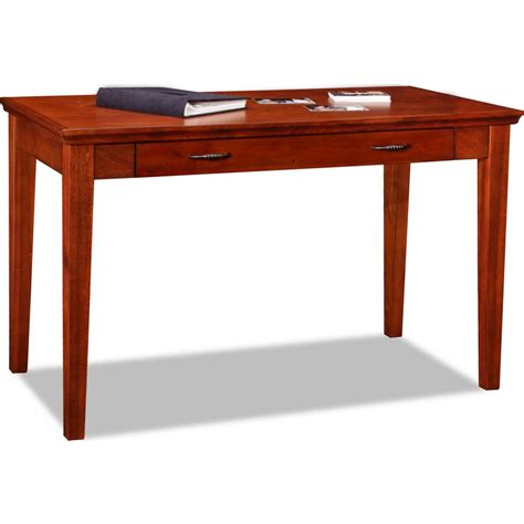 leick furniture 87400 home office laptop desk in westwood