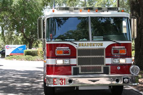 Lu Emergency Ambulance honoring local ems firefighters heritage park care and