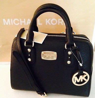 M Hael Kors Black Tote Bag Replika michael kors black satchel handbag