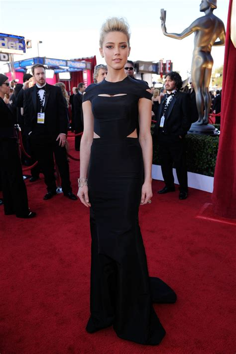 Screen Actors Guild Awards Best Dressed by Heard In Zac Posen The Best Worst Dressed At The
