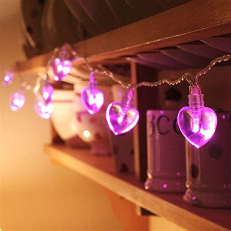 indoor string lights amazon compare price to heart led string lights battery