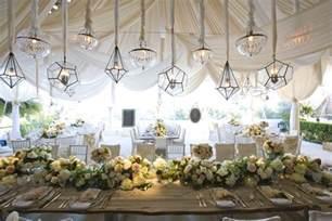 Outdoor Tent Wedding Wedding Decor Hanging Details