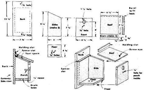 blue jay house plans blue jay birdhouse plans pdf plans koa cabin plan freepdfplans woodplanspdf