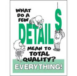Quality slogans for the workplace details workplace poster emedco