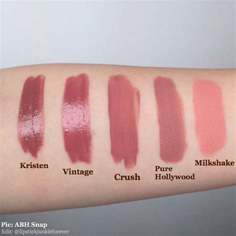 anastasia beverly hills liquid lipstick in crush swatches i seriously cannot wait for the anastasiabeverlyhills