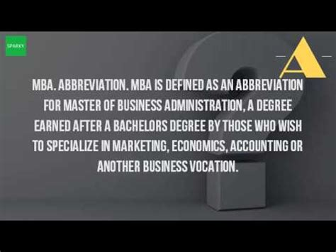 Mba Related Abbreviations by Abbreviation For Management Buzzpls