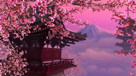 cherry tree karaoke ups and downs cherry blossom instrumental hd 1080p