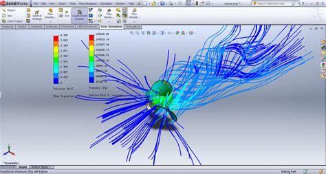 solidworks tutorial propeller marine propeller flow simulation solidworks 3d cad