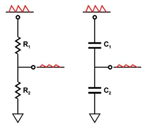resistor capacitor voltage divider pentodes and aikido mojo