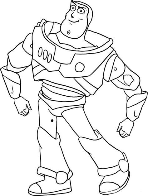 Buzz Lightyear Of Star Command Coloring Pages Coloring Buzz Colouring Pages