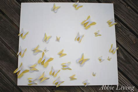 Origami Butterfly Wall - 22 best images about from the abbie living on