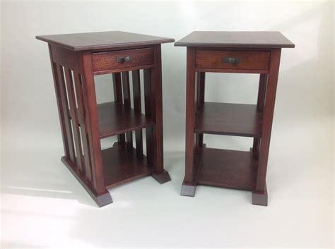 White Oak Bedside Table White Oak Bedside Tables By Cobblermtn Lumberjocks