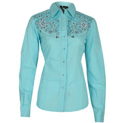 shirts for ru women s embroidered western shirt aewom
