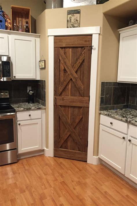 Pantry Barn Doors by Solid Wood Doors River Valley Woodworks