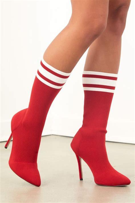 sock high heel boots high heel sock boot sosorella