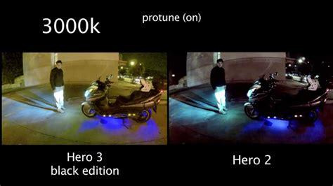 gopro hero 5 status light gopro hero 3 2 low light comparison auto 3k with