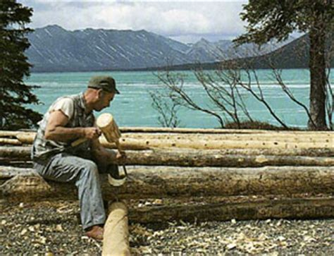 Log Cabin Documentary by Alone In The Wilderness 30 Years In The Alaska Wilderness