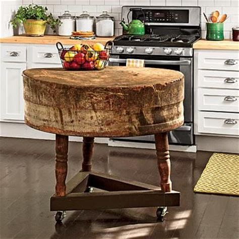 antique butcher block kitchen island pin by southern living on kitchens