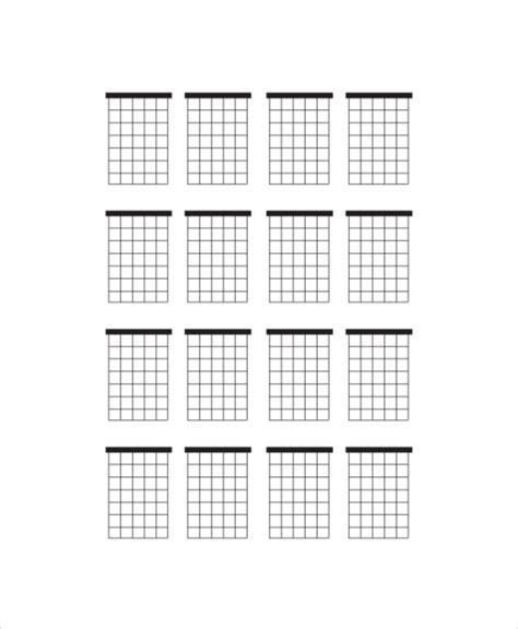 printable blank ukulele chord chart free worksheets 187 blank 100 chart pdf free math