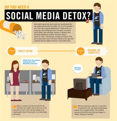 Detox From News Media by Do You Need A Social Media Detox Infographic Alltop Viral