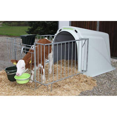 calf house calf house flexbox mit zaun im farmshop