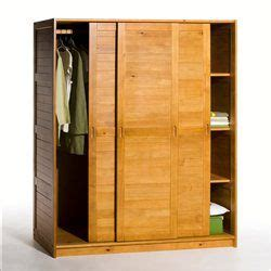 armoire dressing la redoute armoire penderie 232 re pin massif soninke la redoute