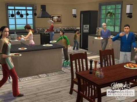 the sims 2 kitchen and bath interior design interior designs for sims 3 joy studio design gallery