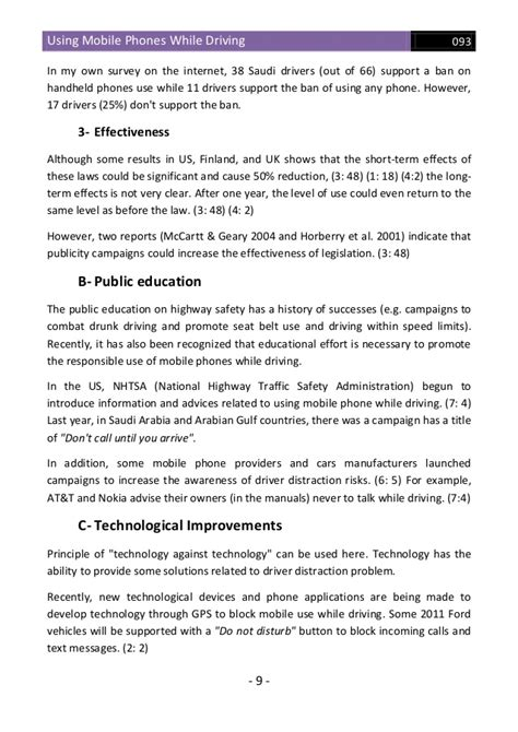 Cell Phones And Driving Essay by Essay On Cell Phones And Driving Docoments Ojazlink