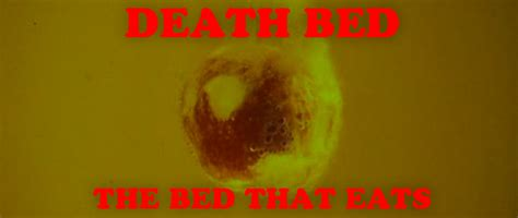deathbed the bed that eats people death bed the bed that eats spectacle theater