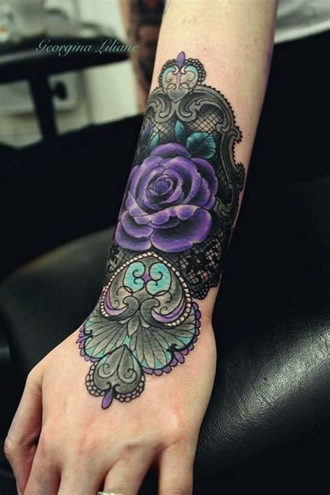 violet rose tattoo 40 breathtaking designs amazing ideas