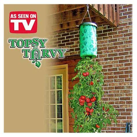 topsy turvy tomato planter topsy turvy ek蝓i s 246 zl 252 k