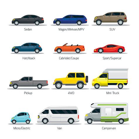 types honda cars royalty free suv clip vector images illustrations